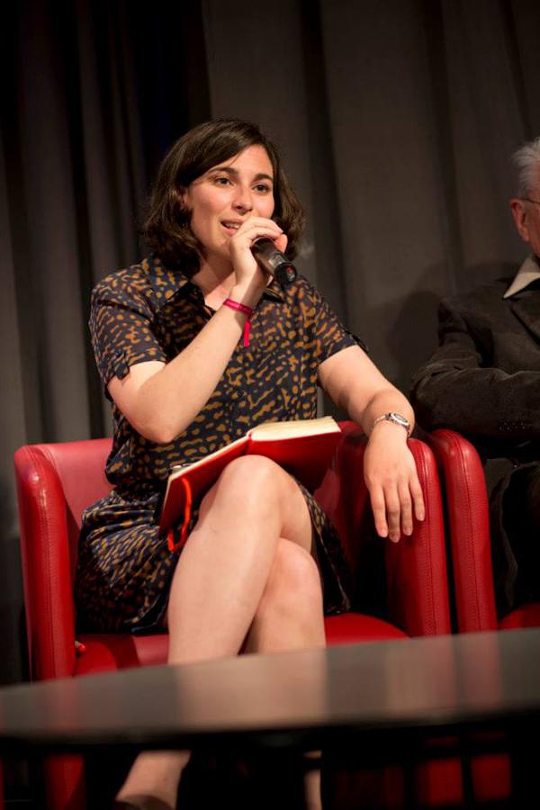 """Adeline Braescu-Kerlan, Co-founder & Explorer The Boson Project, cofondatrice et Secrétaire générale de l'association WoMen'Up. """"Jeune Pousse"""" du FCE"""