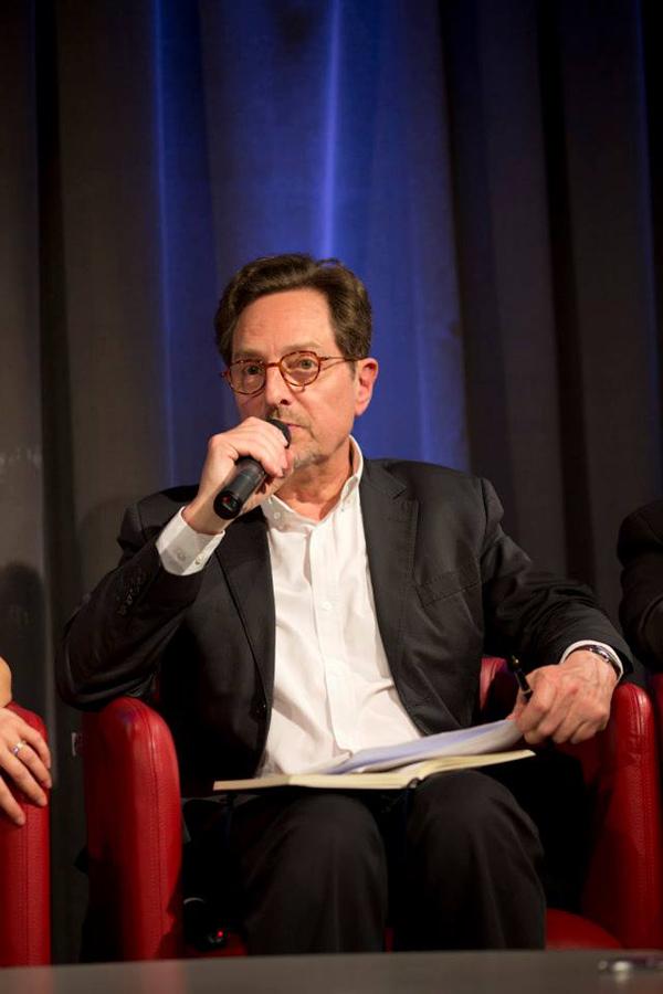 Brice Couturier, co-producteur et éditorialiste pour Les Matins de France Culture, collaborateur régulier à Enjeux-Les Echos