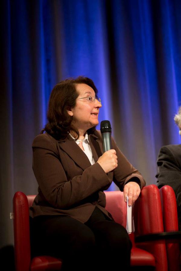 """Brigitte Chamak, sociologue et neurobiologiste à l'INSERM. Auteur de la biographie : """"Le Groupe des Dix"""" (éd. du Rocher)"""