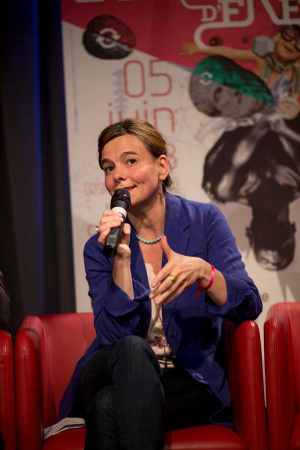 """Carine Dartiguepeyrou, prospectiviste. Co-auteur de """"La nouvelle Avant-garde, vers un changement de culture"""" (L'Harmattan)."""