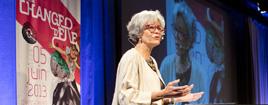 Très beau discours d'ouverture de la présidente d'Universcience, Claudie Haigneré. Très positif, très stimula