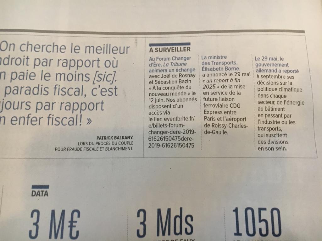 Annonce La Tribune