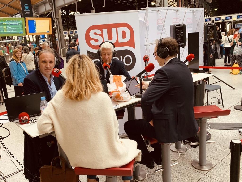 Sud Radio Gare ST Lazare 60619