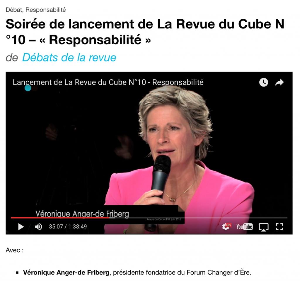Le Cube émission 10 du 230616