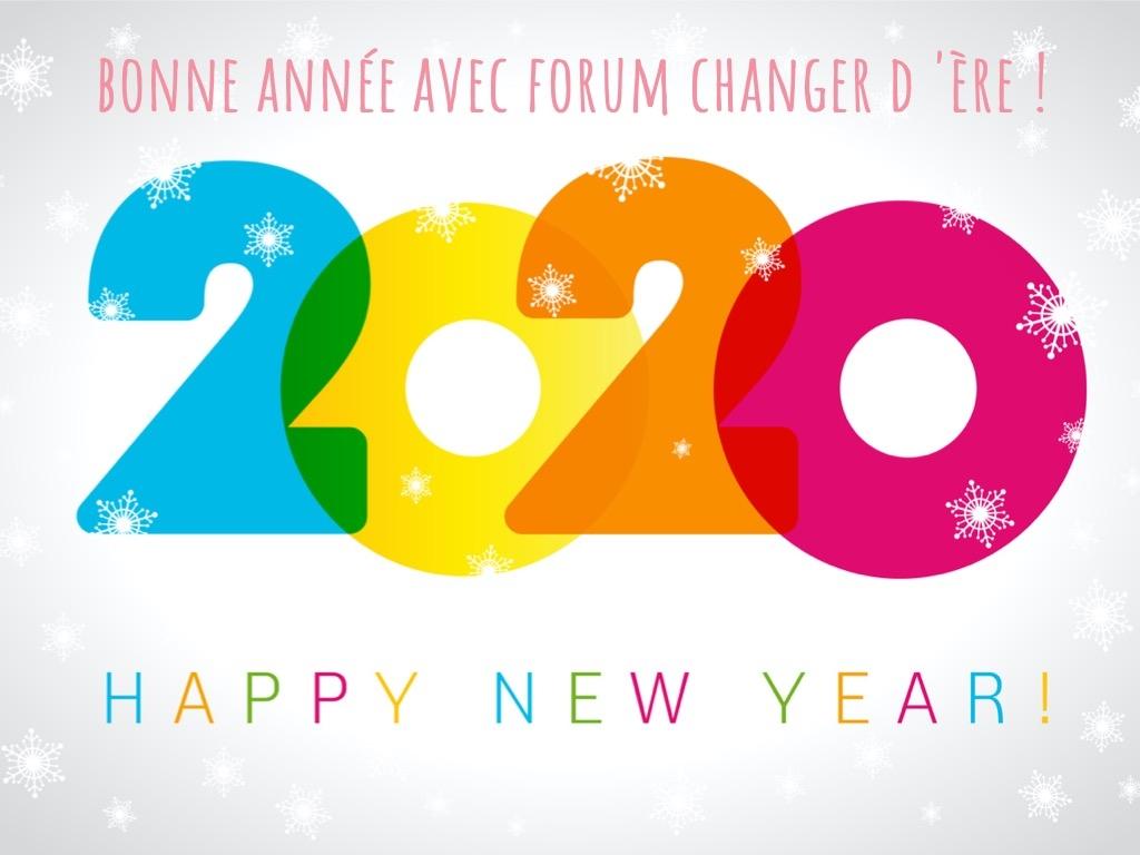 Bonne Année 2020 FCE